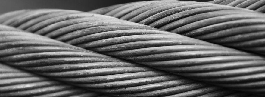 Grube liny, taśmy, tworzywa